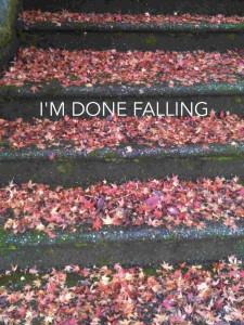 I'm Done Falling photo